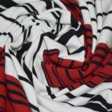 250GSM綿のスパンデックスのヤーンによって染められる縞ファブリック