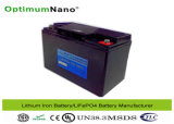 Baterias de fosfato de ferro de lítio 12V 20ah Golf Trolley Motor Battery