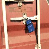 Intelligentes Vorhängeschloß mit GPS, zum des Verschlusses zu überwachen und von der LKW-Tür zu entsperren