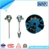 4-20mA/Hart PT100 2 Wire/3ワイヤー温度ヘッド送信機