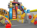Полоса препятствий роботов раздувная для малышей Chob1123