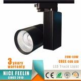 상점 점화를 위한 최고 판매 크리 사람 상표 옥수수 속 LED 궤도 빛