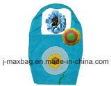 Il sacchetto pieghevole del cliente dei regali fiorisce lo stile del girasole, i sacchetti riutilizzabili, leggeri, di drogheria e pratico, accessori & decorazione, promozione