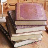 Libro del rompecabezas de Casebound del libro de la historia del Hardcover para los niños