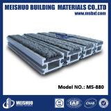 Stuoie di alluminio messe dell'entrata della moquette concreta del pavimento