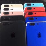 Carcaça do corpo da tampa traseira de telefone móvel para o iPhone 7 mais a tela de toque 4.7 5.5