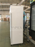 동적인 냉각 장치를 가진 수직 두 배 여닫이 문 전시 냉각기