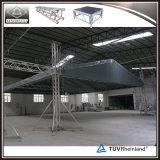 공장 가격 알루미늄 스튜디오 연주회를 위한 Truss에 의하여 구부려지는 지붕 Truss