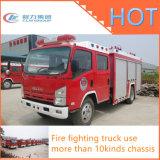 Camion professionnel de lutte contre l'incendie de réservoir d'eau de la mousse 4X2 d'Isuzu Dongfeng