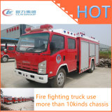 Isuzu Dongfeng 직업적인 4X2 거품 물 탱크 화재 싸움 트럭