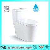 Venda quente um padrão americano do toalete da economia da água da parte