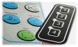 Tastiera impermeabile di tocco della membrana del tasto di Embrossed dell'interruttore di membrana