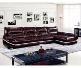 Modernes Büro-Ecken-Leder-Sofa (UL-NS311)