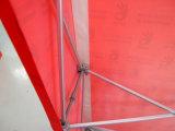Le tissu en aluminium carré de tube sautent vers le haut l'étalage (SS-PD1)