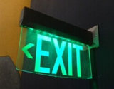 Sinal da saída do diodo emissor de luz do UL, sinal da saída Emergency, sinal da saída, sinal da saída Emergency