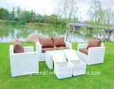 熱い販売の柳細工のテラスのソファーの屋外の藤の庭の家具(GN-9103S)