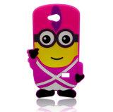 Случай телефона шаржа изготовленный на заказ Eco-Friendly силикона милый