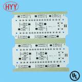 PWB do diodo emissor de luz para a placa eletrônica do bulbo e da câmara de ar com HASL sem chumbo