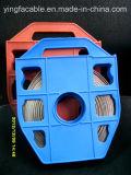 304/316 acier inoxydable de solides solubles attachant la bande pour des câbles et des pipes