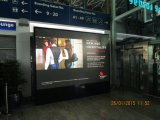 Visualización de LED video publicitaria de interior de P6 SMD