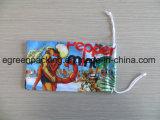 Bolsa personalizada de Microfiber de la impresión en offset con el lazo y el grano