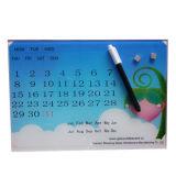 Raad van het Glas van de Kalender van de muur de Magnetische Schrijvende