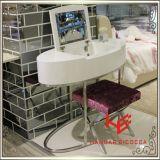 Möbel-Edelstahl-Möbel-Ausgangsmöbel-Hotel-Möbel-Tisch-Kaffeetisch-Tisch- für Systemkonsoletee-Tisch-Seiten-Tisch der Frisierkommode-(RS161701) moderner