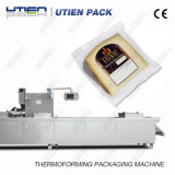Käse automatische Thermoforming vakuumverpackende Maschine mit Selbstplombe