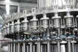Quatro em uma planta de engarrafamento do equipamento da grão automática do suco