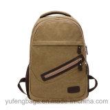 Los bolsos al por mayor de la lona de la alta calidad del bolso de escuela se pueden modificar para requisitos particulares en la insignia Yf-Lb1702