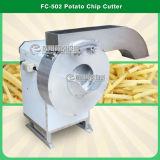 Machine de découpage de taro de coupeur de pommes chips de racine alimentaire de racines d'automatisation (FC-502)