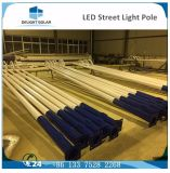 via solare esterna Plastica-Rivestita Octagonal grigia palo chiaro di 2-12m LED