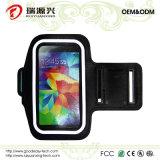 SamsungギャラクシーS5、iPhone 6/6s及びHTC (黒)のための腕章