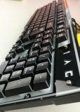 ワイヤーで縛られるか、または無線鉄の底Djj310キーボードコンピュータかゲームまたはラップトップ