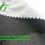 O Tricot 100% do poliéster fêz malha entrelinhar kejme'noykejme feito malha urdidura tecido fundível