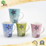 la sublimación 13oz vende al por mayor la fábrica de cerámica de las tazas de la taza de la estrella