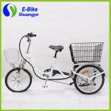 3つの車輪の貨物Foldable電気三輪車