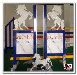 La nuova esposizione di figura del cavallo di disegno 2016 salta l'ala