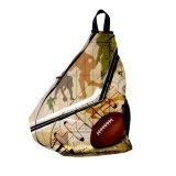 Мешок плеча ясности Backpack Slingshot сумки слинга команды он-лайн