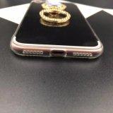 Caso abundante luxuoso da parte traseira TPU do espelho para o iPhone 7