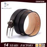 高品質の鋼鉄バックルの製造業者の供給の本物のワニの革靴の革ベルト