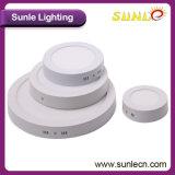 Luz de painel redonda branca do diodo emissor de luz SMD2835 de Epistar 50/60Hz (SL-MZO3)