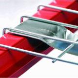 Decking del acoplamiento de alambre para el estante de la paleta