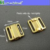 은 금 검정 포금에 있는 12mm 브래지어 금속 클립