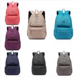 Saco unisex do portátil do ombro da mochila do curso da trouxa da escola das meninas dos meninos
