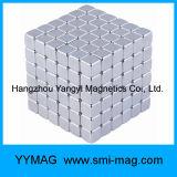 Néo- aimant de blocs du néodyme 5X5X5