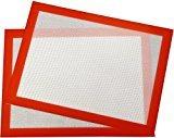 Não forros do forno do silicone da Fácil-Limpeza da vara