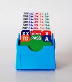Acblのコントラクトブリッジのためのプラスチック挿入カード