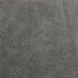 高品質のLitchiの穀物PU PVCハンドバッグの革(FS703)