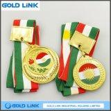 Monnaie de souvenir émaillée Médaille olympique personnalisée Métal médaillon Trophées